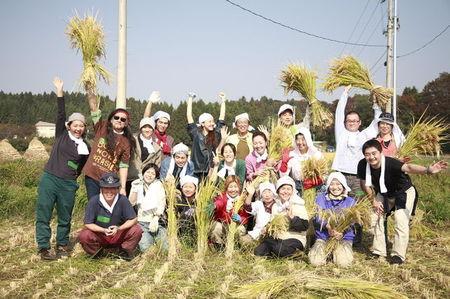 天手子米収穫祭全員集合.jpgのサムネール画像